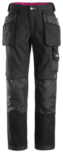 Snickers 3714 Women's Canvas+ Holster Pocket Trousers