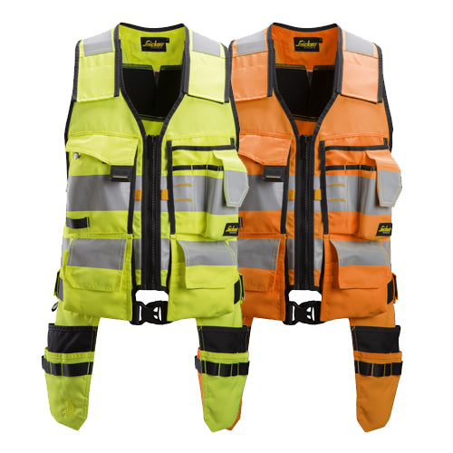 Snickers 4230 AllroundWork High-Vis Tool vest CL1