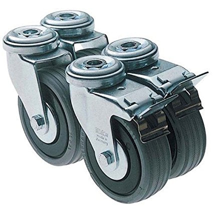 Festool 491932 Set of Castors, SYS-PORT R/2