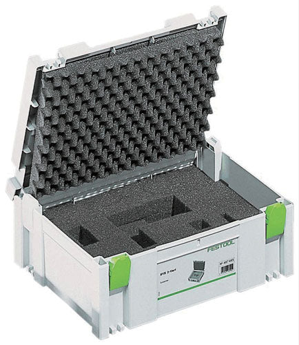 Festool 497693 SYSTAINER with diced foam insert T-LOC SYS 1 VARI