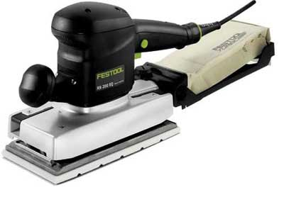Festool 567881 RUTSCHER Orbital Sander RS 200 EQ-Plus GB 240V