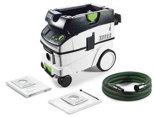 Festool 574944 CLEANTEX CTL 26 E AC GB 240V Autoclean Mobile Dust Extractor