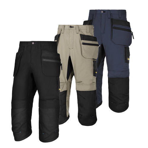Snickers 6103 Lite Work 37.5 Work Pirate Trousers+ Holster Pockets