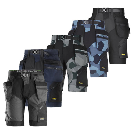Snickers 6904 Flexi Work Shorts+ with Holster Pockets