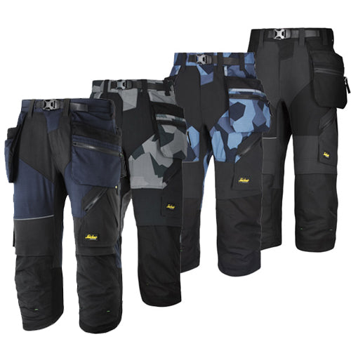 Snickers 6905 Flexi Work Pirate Trousers+ with Holster Pockets