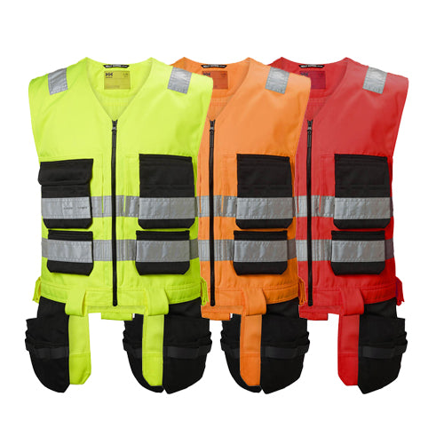 Helly Hansen 77110 Hi Vis Alna Construction Vest - Class 1