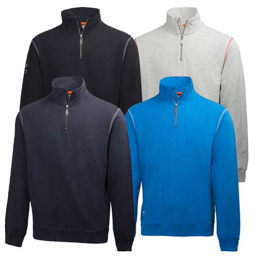Helly Hansen 79027 Oxford Half Zip Sweatshirt