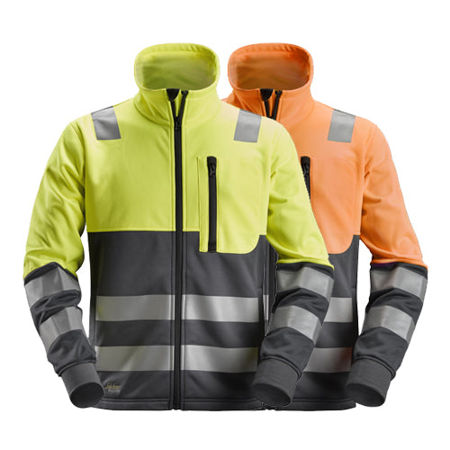 Snickers 8035 AllroundWork High-Vis FZ Jacket CL2