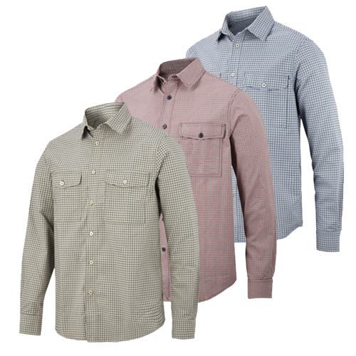 Snickers 8507 All Round Work Comfort Checked Shirt