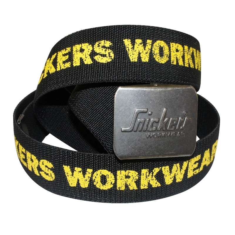Snickers 9005 Printed Logo Belt