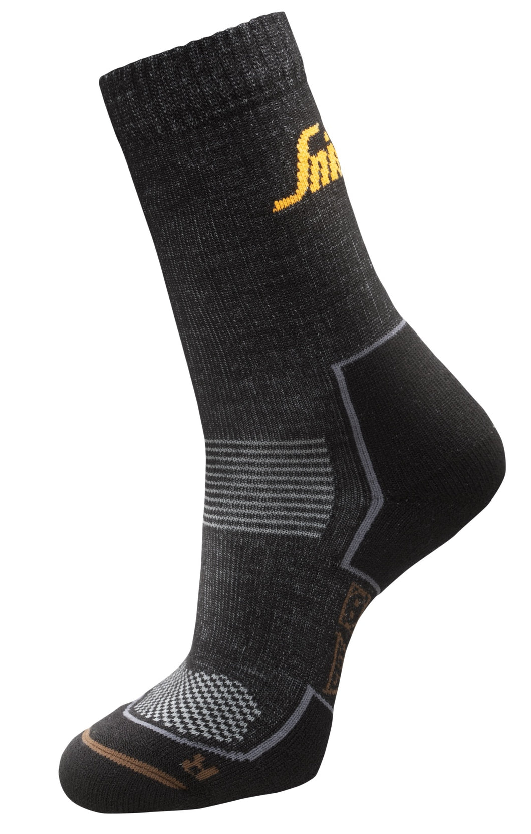 Snickers 9206 Ruff Work Cordura Wool Socks 2 Pack