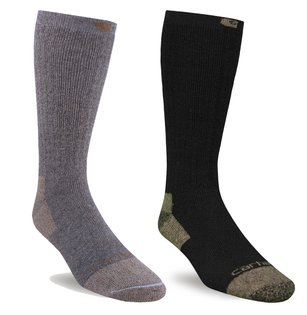 Carhartt A555 Steel Toe Cotton Work Boot Sock (2 Pack)