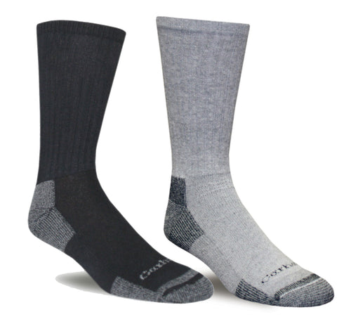 Carhartt A62 All Season Cotton Crew Work Sock 3 Pack