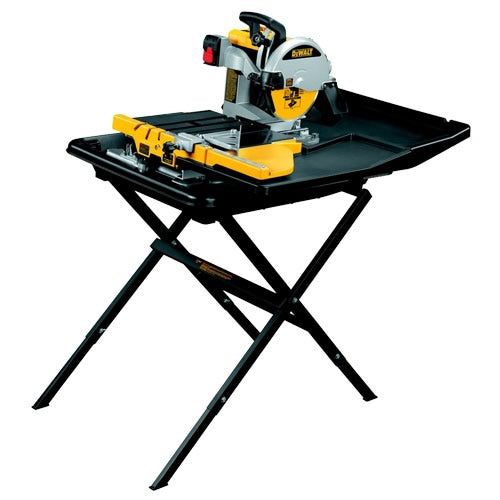 DeWalt D24000 Wet Tile Saw with Slide Table 1600 Watt
