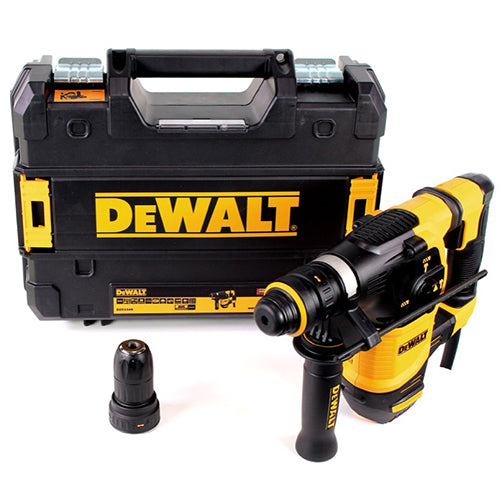 DeWalt D25334K 950W 30mm Brushless SDS Plus Rotary Hammer Drill with Quick Change Chuck