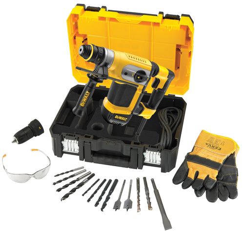 DeWalt D25417KT 240V 32mm SDS Plus Multi Drill with TSTAK Box