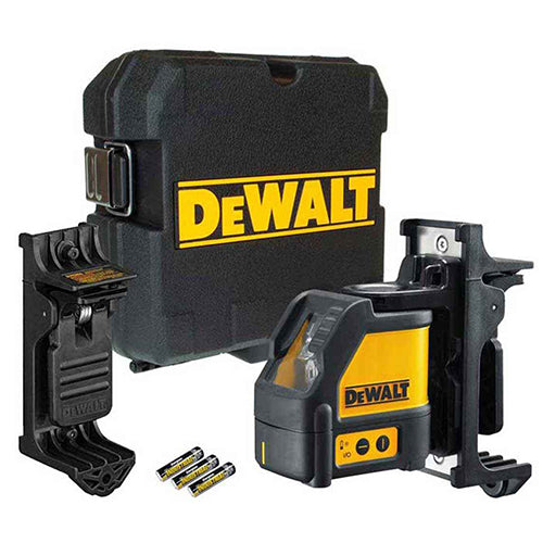 DeWalt DW088K Cross Line Red Laser