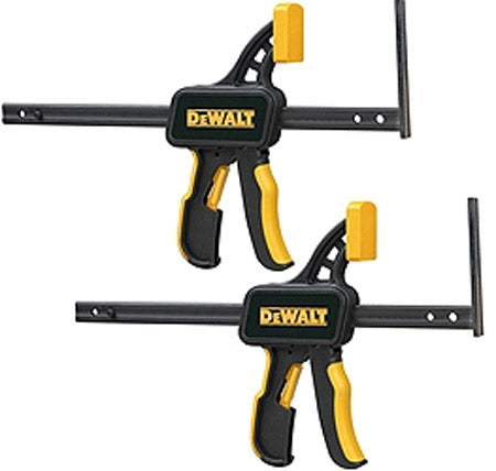 DeWalt DWS5026 Pair of quick clamps for guide rails