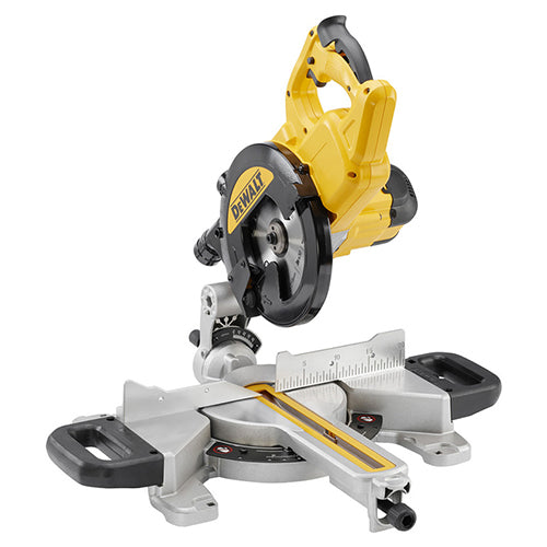 DeWalt DWS774 1400W 216mm Slide Mitre Saw with XPS