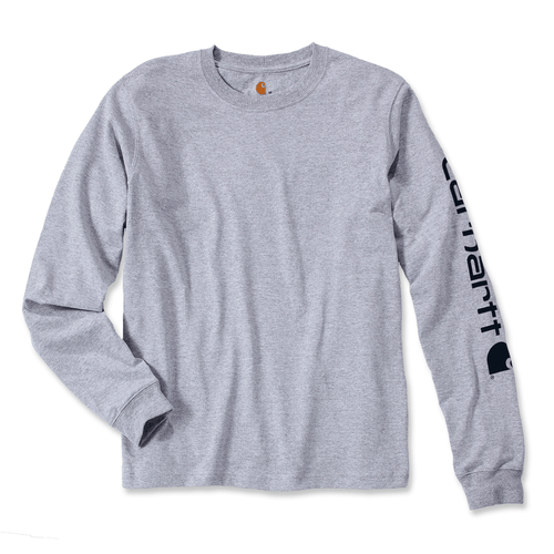 Carhartt EK231 Logo Long Sleeve T-Shirt