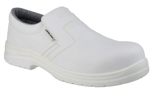 Amblers Safety FS510 White Slip On Safety Shoe