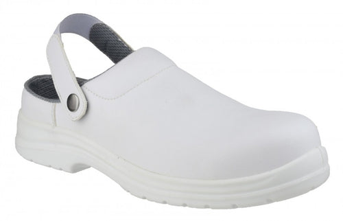 Amblers Safety FS512 White Safety Clog
