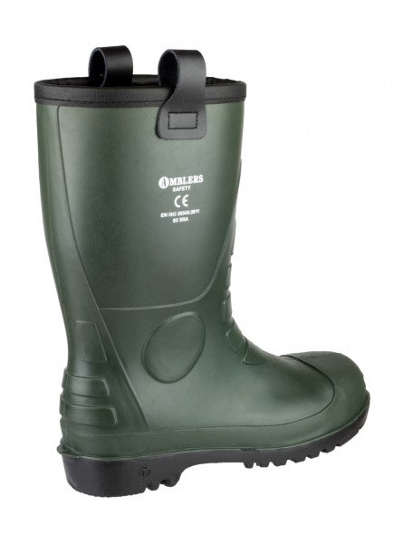 ef2d2a87636 Amblers Safety FS97 PVC Safety Rigger Boots