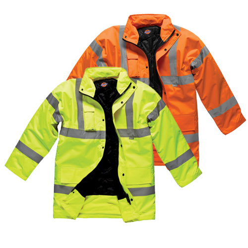 Dickies SA22045 High Visibility Motorway Jacket