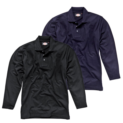 Dickies SH21100 Long Sleeve Polo Shirt