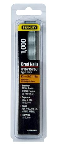 Stanley 0-SWK-BN050 Brad Nails 12mm x 1000