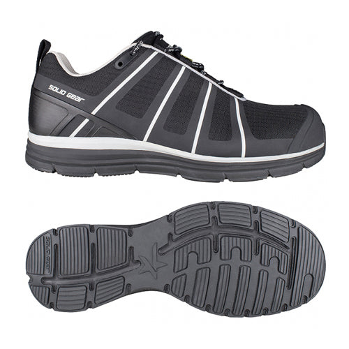 Solid Gear SG80116 Evolution Black Safety Trainers
