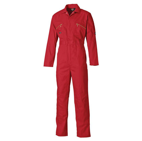 Dickies WD4839 Redhawk Zip Front Coverall - Red