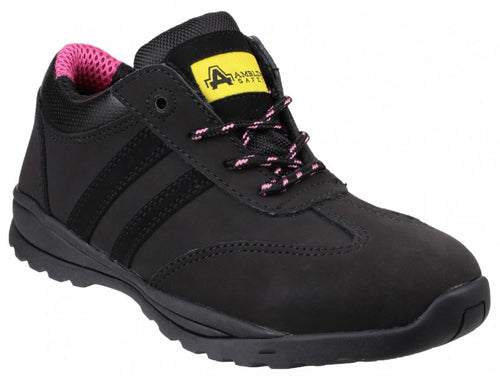 Amblers Safety FS706 Sophie Ladies Black Safety Trainers