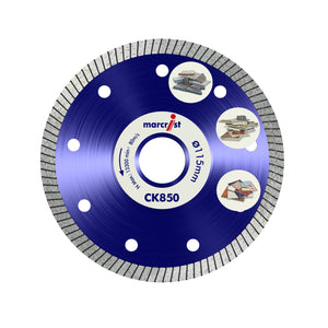 Marcrist CK850 115mm x 22.2 Turbo Extreme Speed Tile Blade