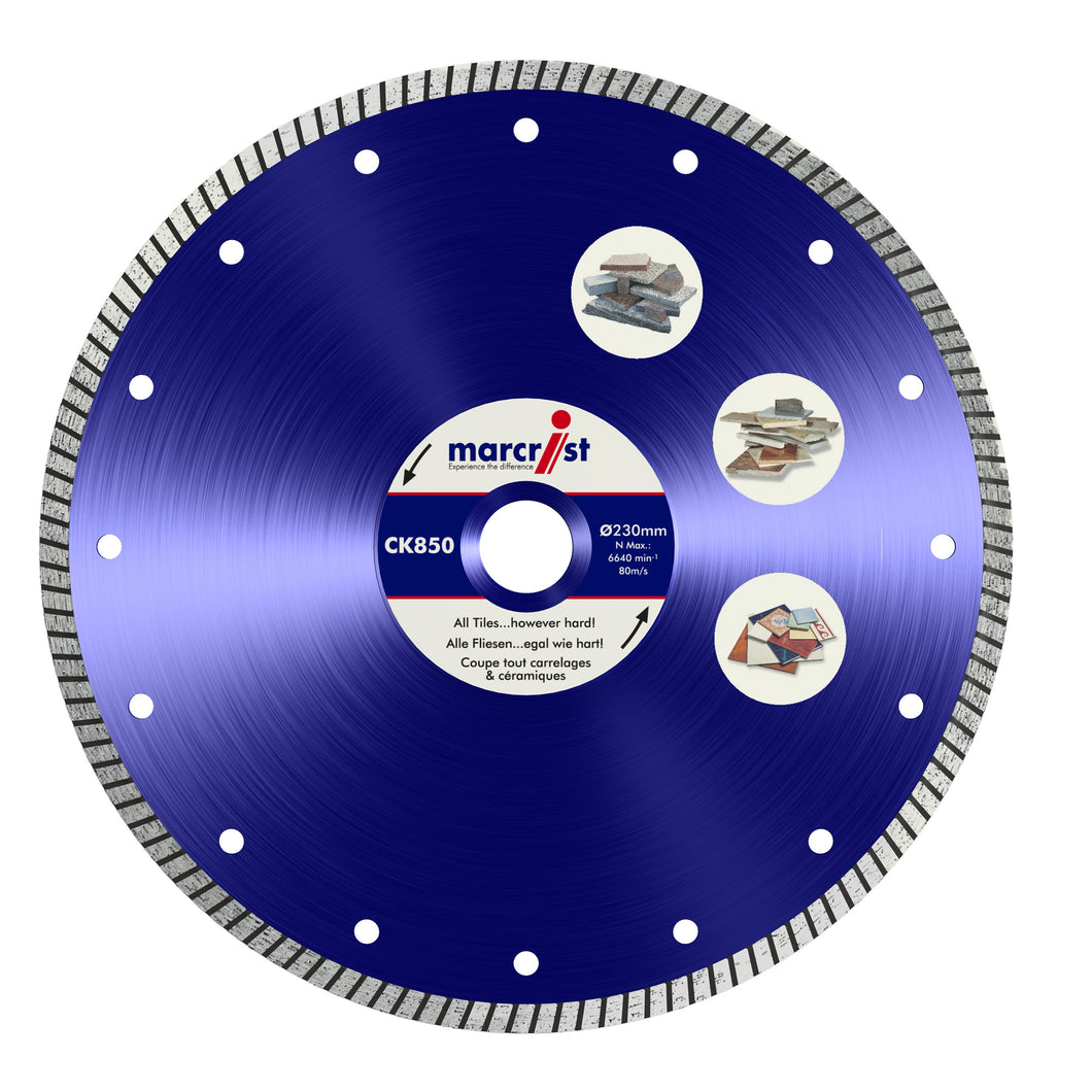 Marcrist CK850 230mm x 22.2 Turbo Extreme Speed Tile Blade