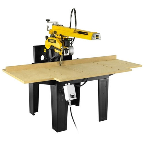 DeWalt DW729KN 350mm 4000W 525mm Cross Cut Radial Arm Saw - 3 Phase