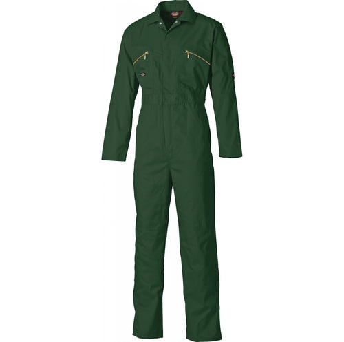 Dickies WD4839 Redhawk Zip Front Coverall - Bottle Green