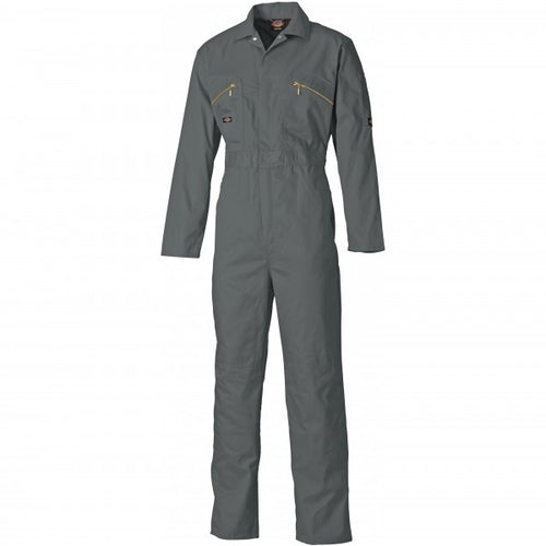 Dickies WD4839 Redhawk Zip Front Coverall - Grey