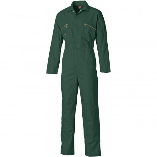 Dickies WD4839 Redhawk Zip Front Coverall - Lincoln Green