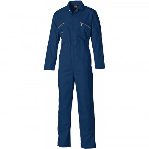 Dickies WD4839 Redhawk Zip Front Coverall - Navy Blue