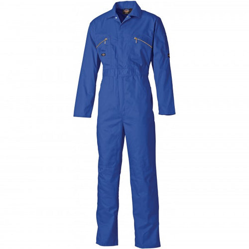 Dickies WD4839 Redhawk Zip Front Coverall - Royal Blue