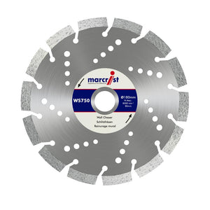 Marcrist WS750 150mm x 22.2 Special Wall Chaser Blade