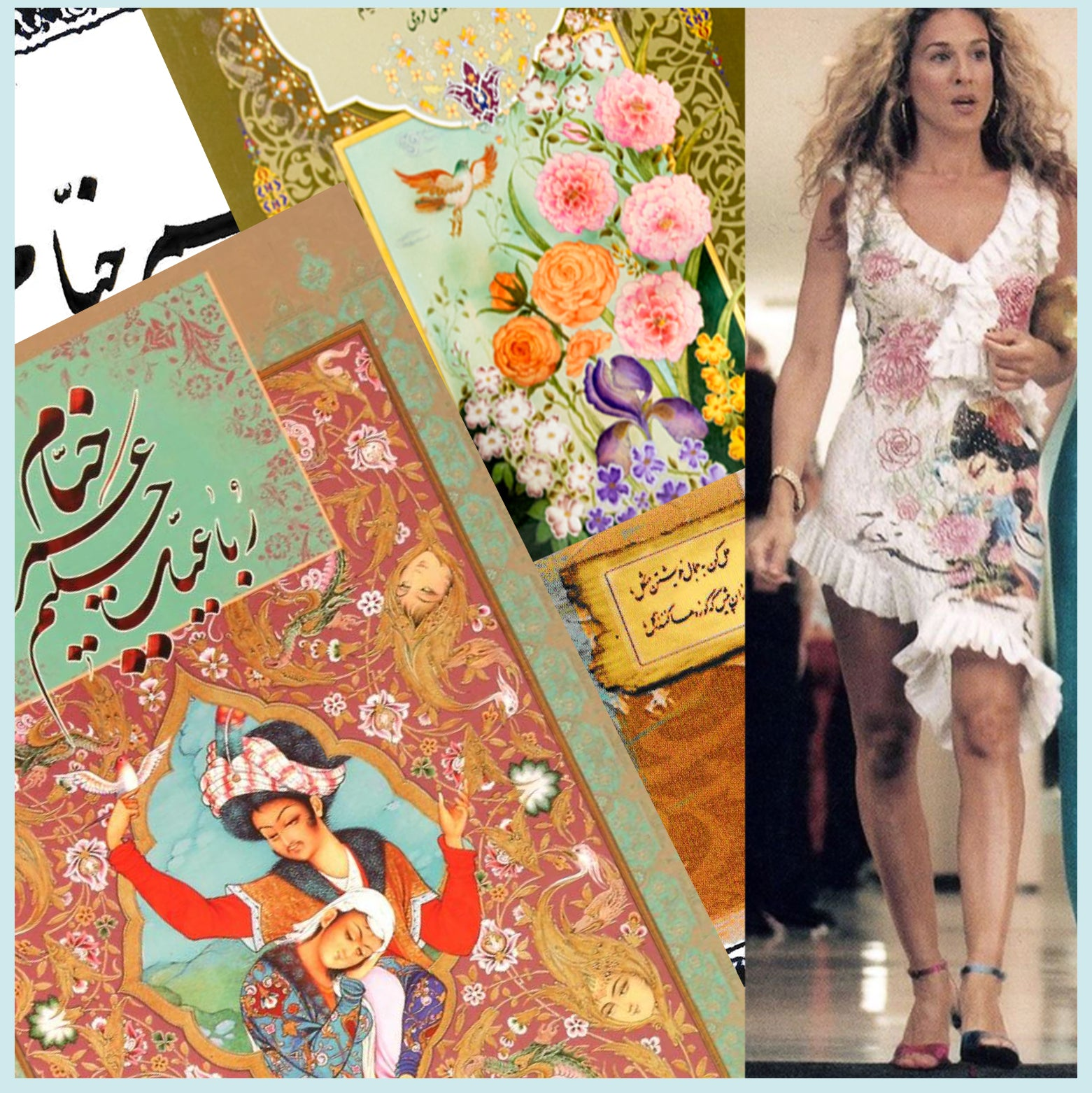 The Curious Case of Me, Khayyam and Sex and The City fashion