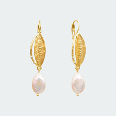 shop baroque pearl dangle earrings online