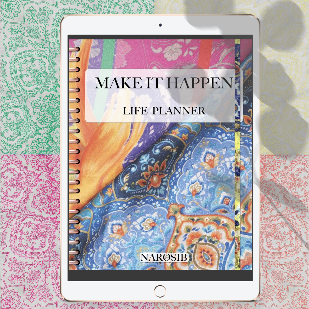 silk scarves and planners productivity for stylish woman