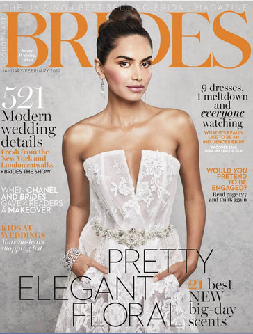 Brides magazine 2019 featured earrings