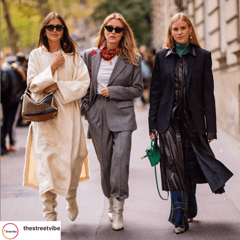 How to wear your scarf the classic style fashion week