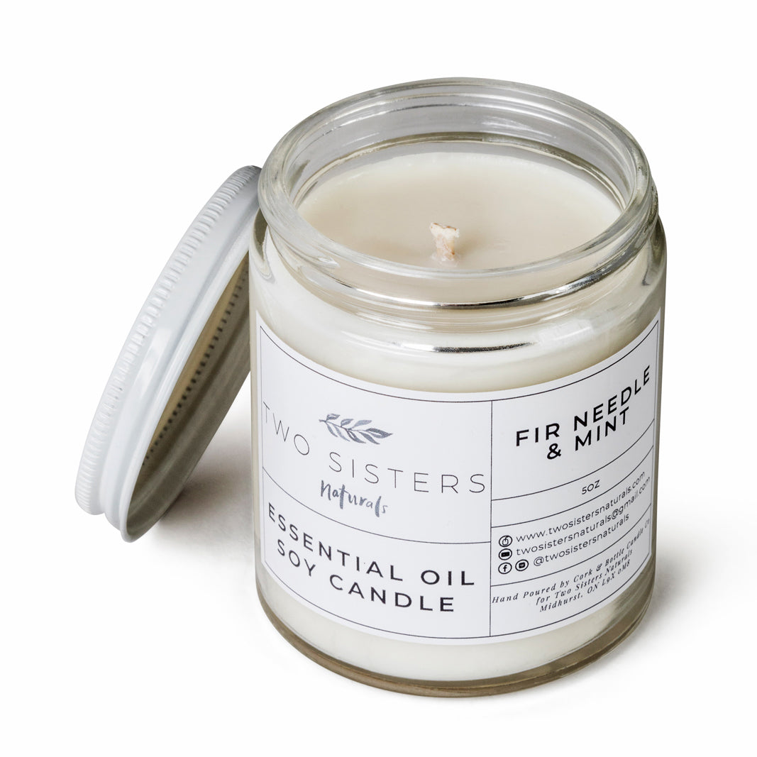 Soy Wax Essential Oil Candle