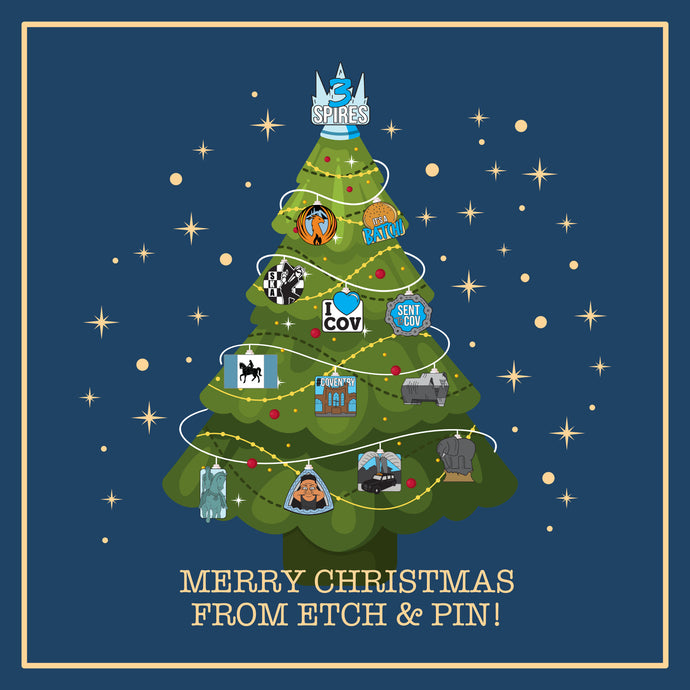 Merry Christmas from Etch and Pin