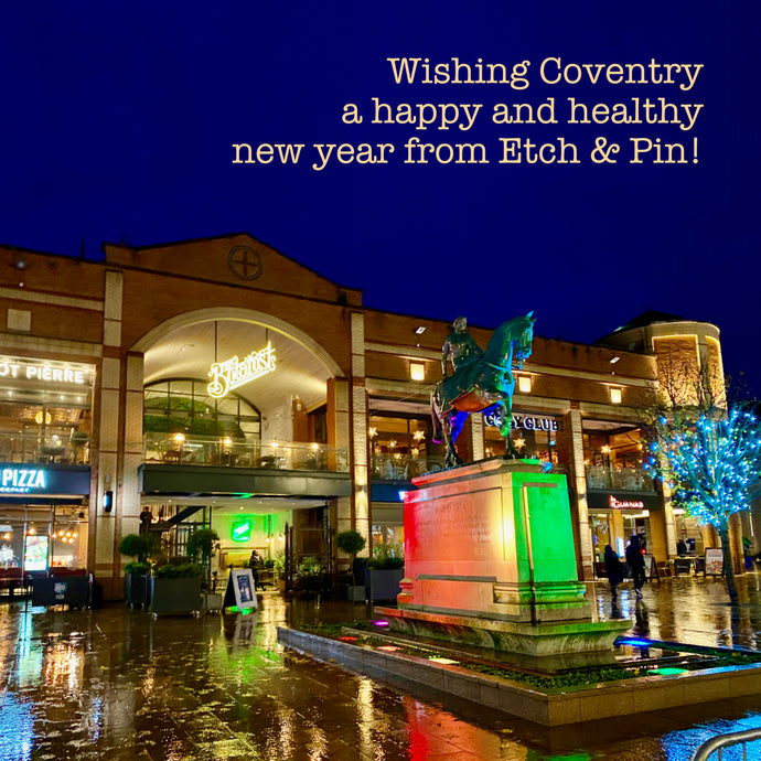 Happy new year wishes from Etch & Pin